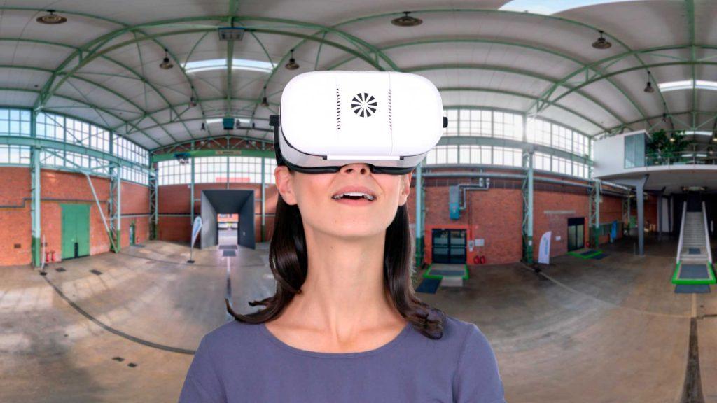 3D Panorama Tour Umicore mit der VR Brille erleben