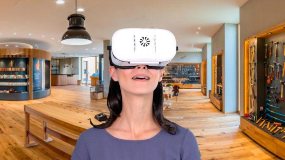 virtuelle Tour Dictum mit jeder VR-Brille in 360 Grad erleben.