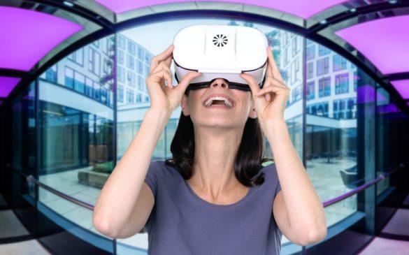 360 Grad Unternehmen mit jeder VR-Brille in 3D erleben.