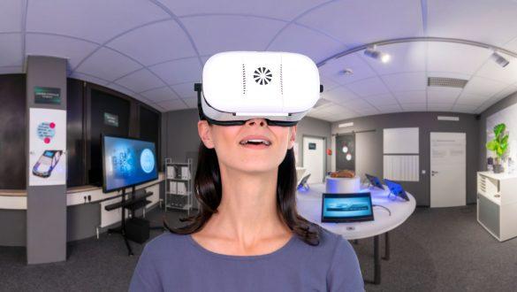 Virtueller Escaperoom 360 Grad mit VR-Brille erleben