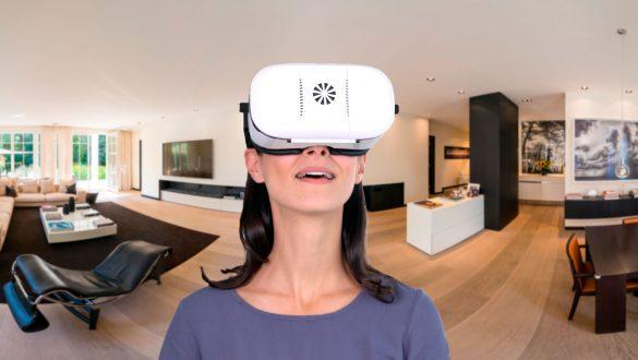 virtueller 360 Grad Hausrundgang mit jeder VR-Brille live erleben.