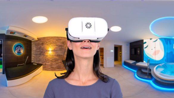 360 Grad Rundgang Spa mit der VR Brille erleben