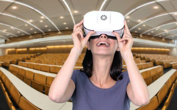 virtueller Campus Rundgang der Uni Passau mit jeder VR-Brille erleben