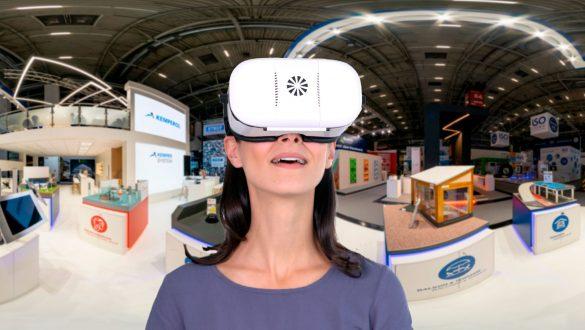 virtuellen 360 Grad Messestand mit jeder VR-Brille erleben