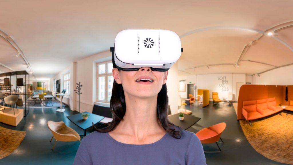 virtueller Showroom - Designerwerkschau in 360 Grad mit der VR Brille erleben