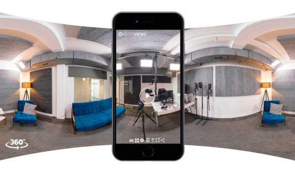 virtuelle Besichtigung WERK1 mit dem Mobile