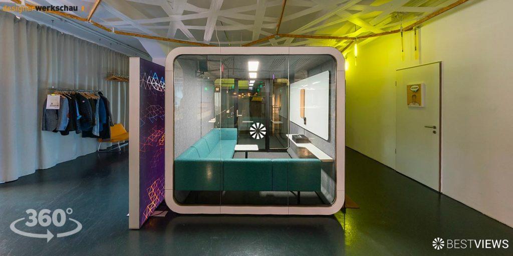 virtueller Showroom Designerwerkschau in 360 Grad erleben