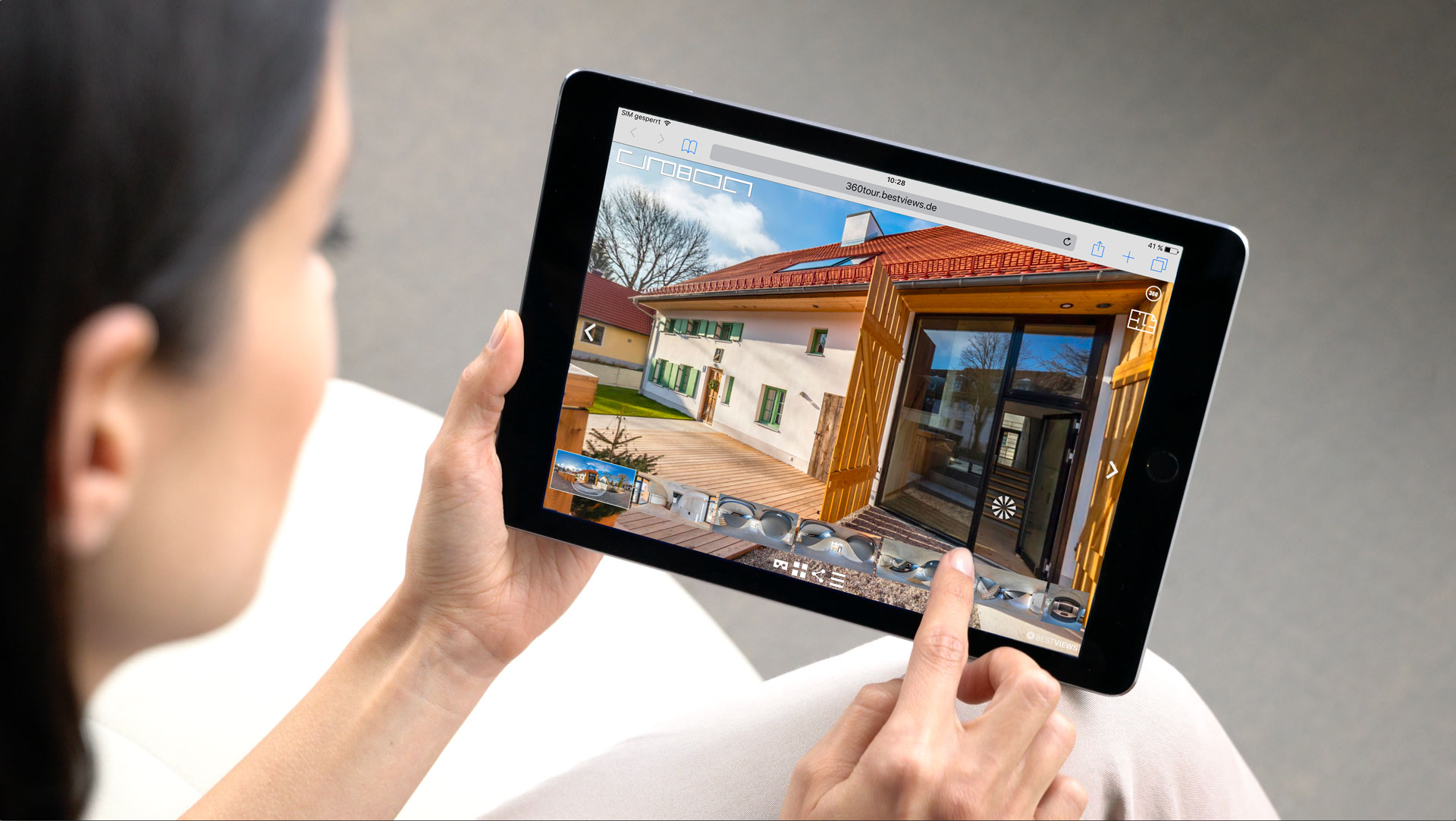 virtueller 360 Grad Fotograf mit dem Tablet live erleben