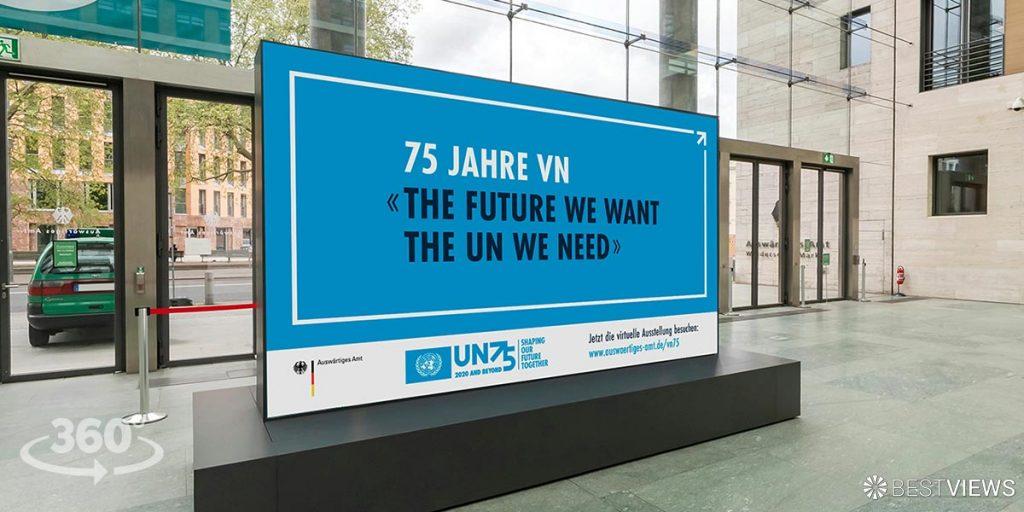 virtuelle Ausstellung - 75 Jahre Vereinte Nationen