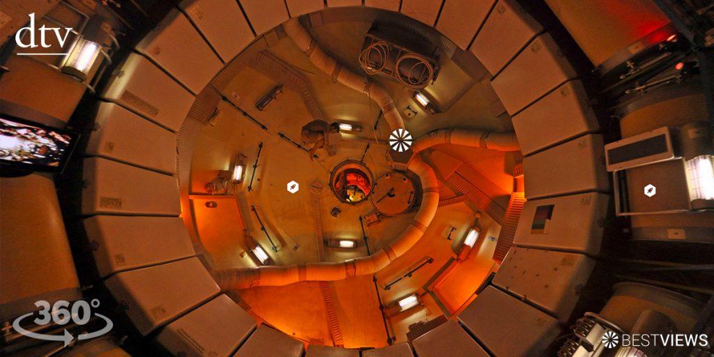 360 Grad illuminae Rätsel Raumschiff