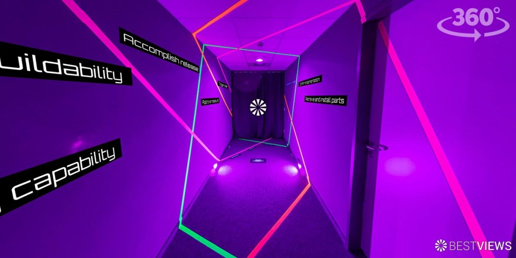 Virtueller Escaperoom 360 Grad