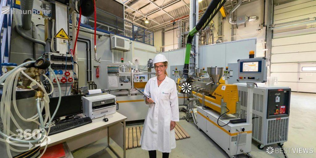 So präsentiert sich das Fraunhofer IVV virtuell