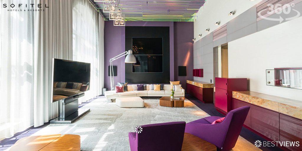 virtueller 360 Grad Rundgang Hotel Sofitel München