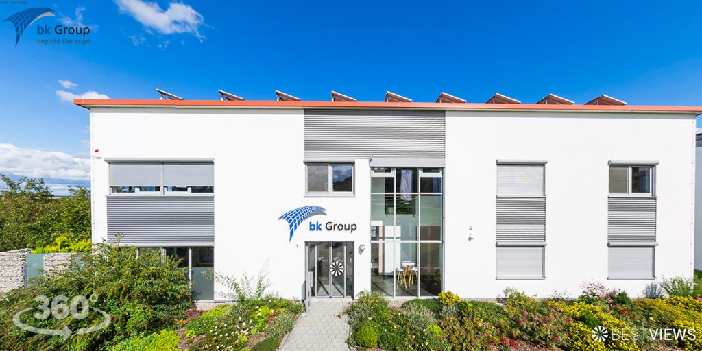 virtueller 360 Grad Unternehmens-Rundgang bk-Group