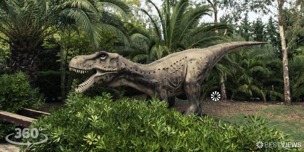 virtuelles 360 Grad Spiel Dinosaurier