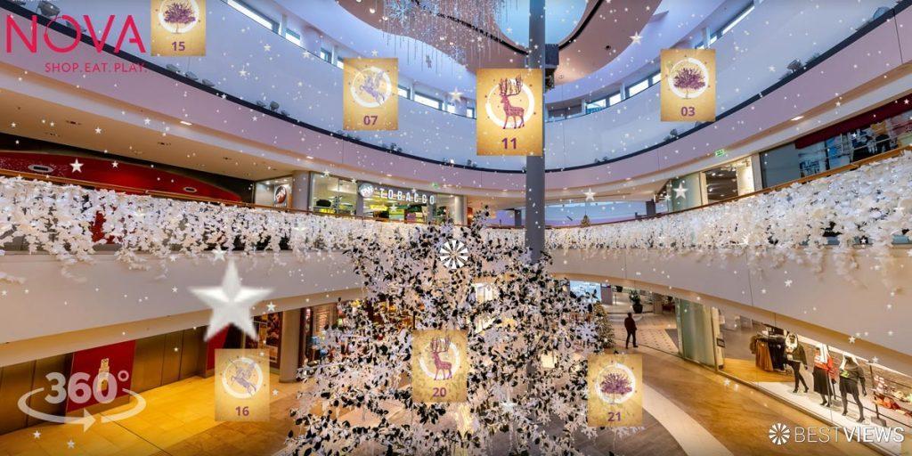 Erleben Sie das NOVA Leipzig im 360 Grad Online Adventskalender.