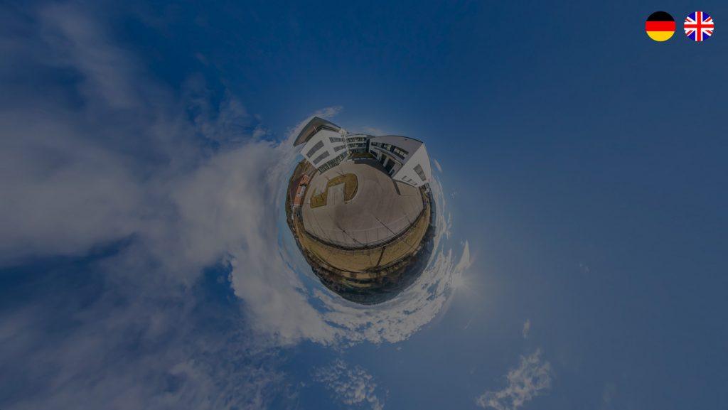 Mehrsprachigkeit 360 Grad Tour DE-EN durch Sprachumschalter