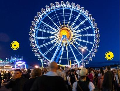 virtueller 360° Rundgang Oktoberfest-Wiesn München