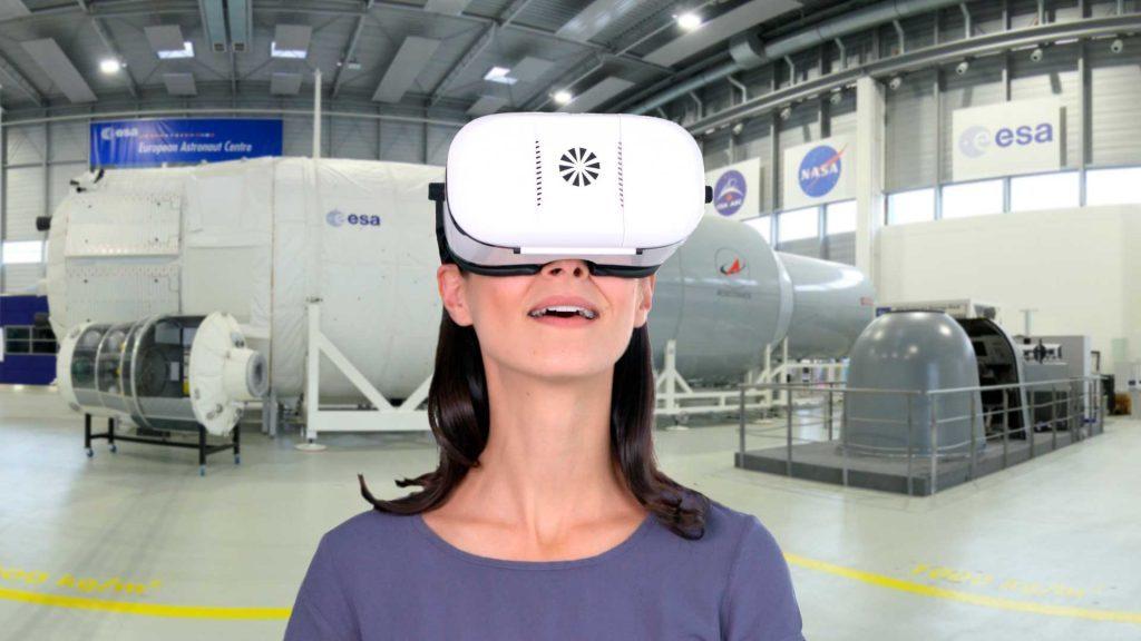 Virtual Tour DLR-Astronautentraining