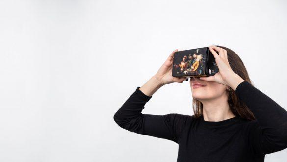 Caravaggio mit jeder VR-Brille in 360° erleben