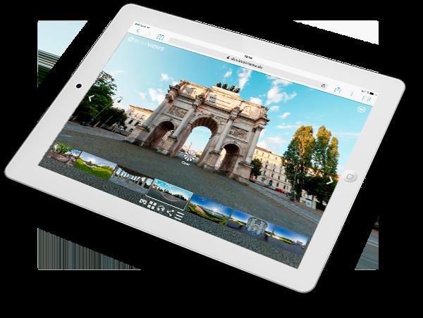 virtueller Rundgang München Morgen