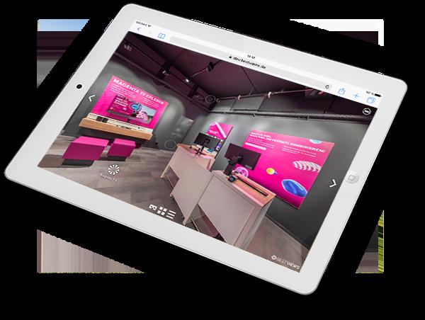 virtueller 360 Grad Shop Rundgang Telekom