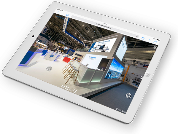 360 Grad virtueller Messestand Kemper System