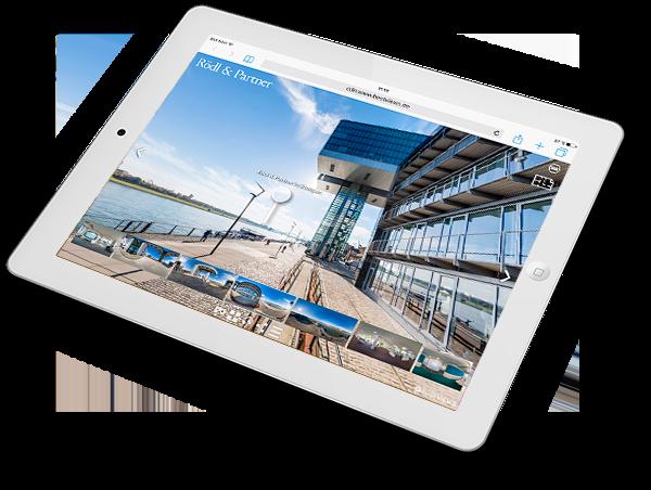 virtueller 360 Grad Unternehmens Rundgang Rödl & Partner Köln
