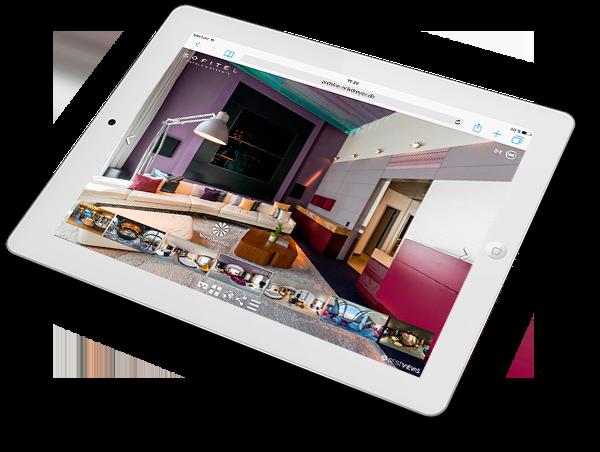 virtuell 360 Grad Hotels mit dem Smartphone erleben