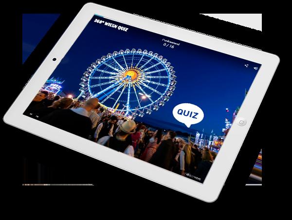 Virtuelles Oktoberfest Quiz am iPad erleben