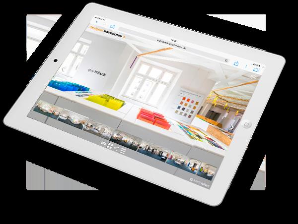 virtuelle Tour 360 Grad Designerwerkschau München