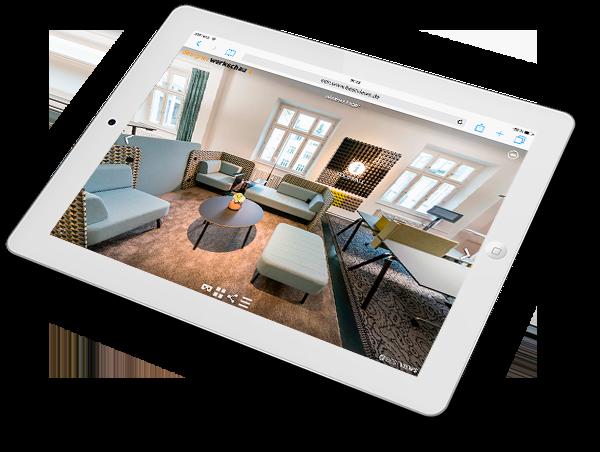 virtueller Showroom - Designerwerkschau in 360 Grad erleben