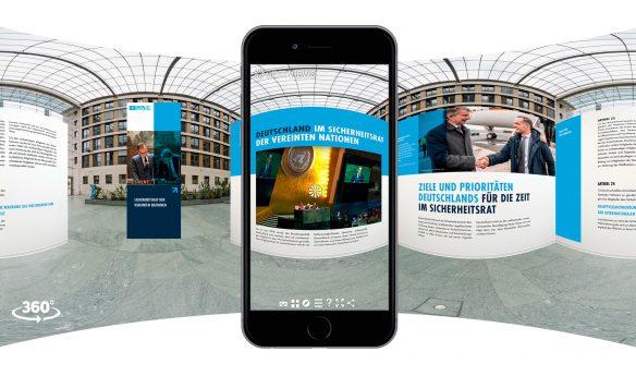 Iphone virtuelle Ausstellung - 75 Jahre Vereinte Nationen