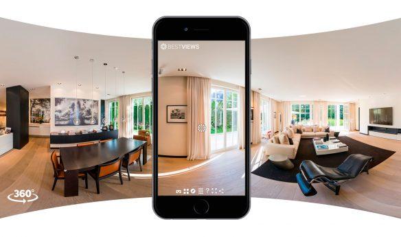 virtueller 360 Grad Hausrundgang mit dem Smartphone erleben