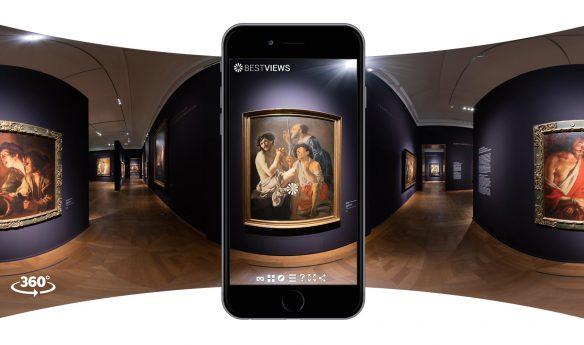 Caravaggio virtueller Rundgang 360 Grad