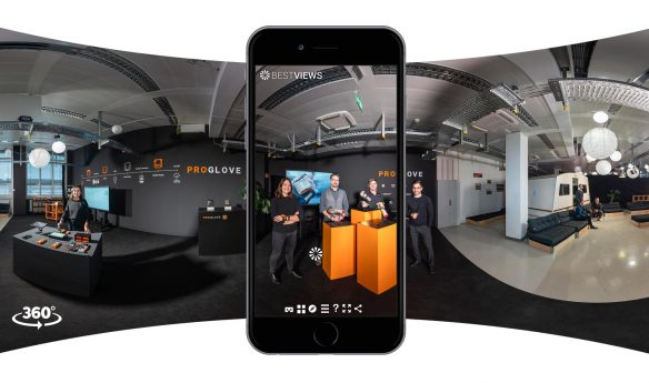 360 Grad digitaler Messestand ProGlove