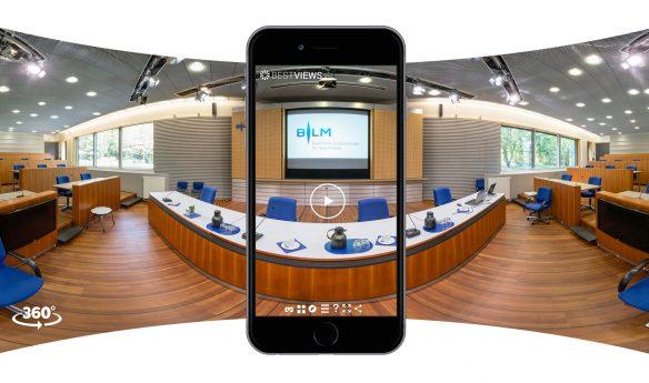 3D Rundgang durch BLM mit dem Mobile Device