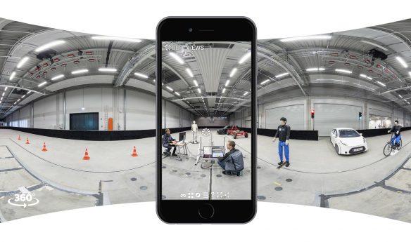 Campusrundgang THI mit dem Smartphone erleben
