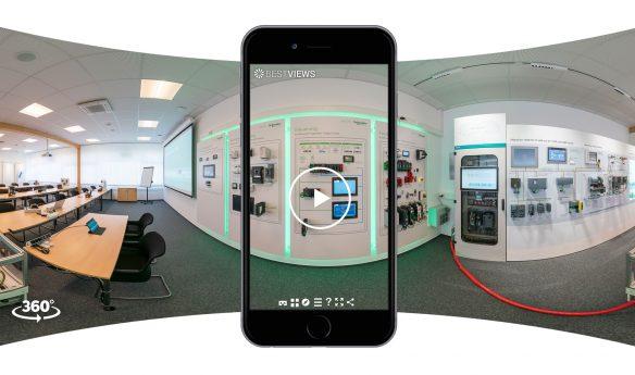 virtueller Campus von Rexel Smartphone