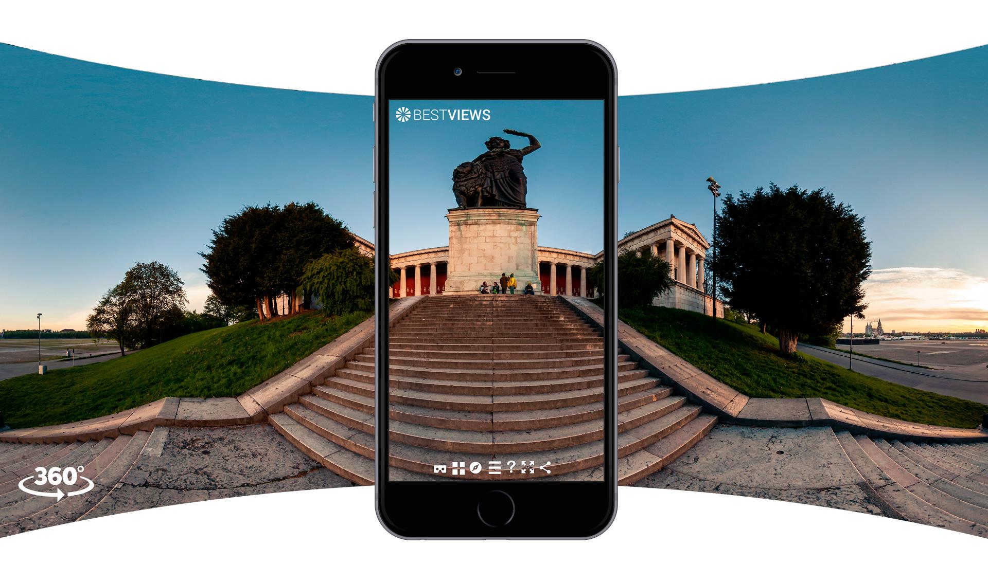 virtuelle 360 Grad Tour vom Panorama Fotograf München erleben