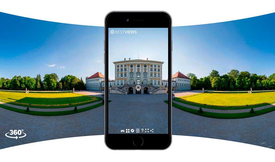 virtueller Rundgang München Morgen mit dem Smartphone erleben