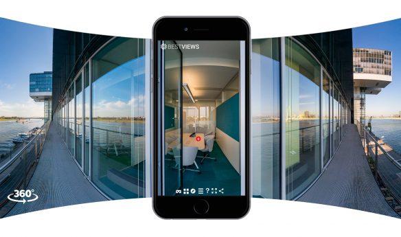 virtueller 360 Grad Unternehmensrundgang mit dem Smartphone erleben