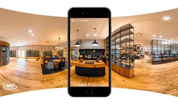 virtuelle Tour in 360 Grad Dictum mit dem Smartphone erleben