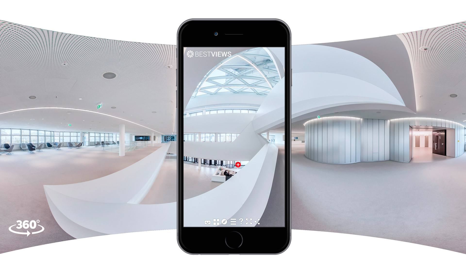 virtuell 360 Grad Unternehmen mit dem Smartphone erleben