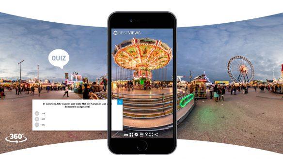 Virtuelles Oktoberfest Quiz am iPhone erleben